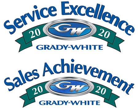Grady-White Boats 2020 Sales and Service Achievement Awards
