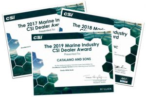 2019 Marine Industry CSI Dealer Award